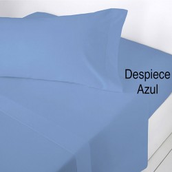 Sabana encimera lisa Azul