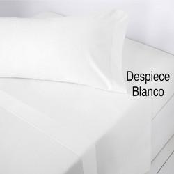 Sabana encimera lisa Blanco