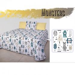 Edredón Monsters