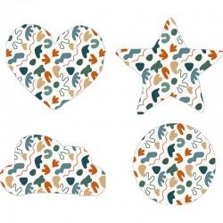 Cojín formas Leaves