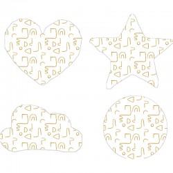Cojín formas Geometric